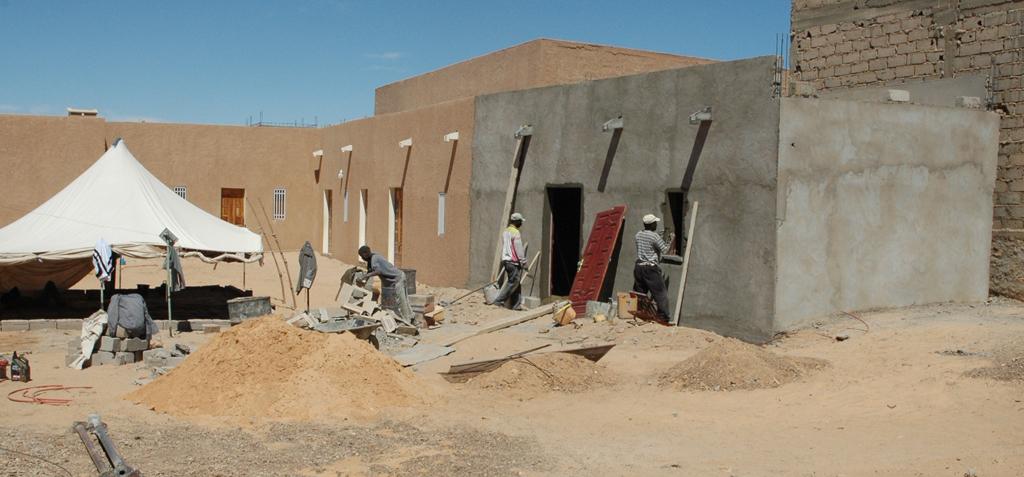 Construction d'une nouvelle classe du Centre Emel